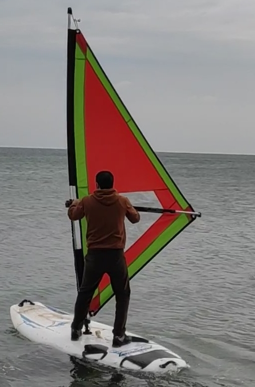 rüzgar sörfü yelken